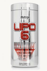 Lipo-6 Unlimited от Nutrex Research 120 капсул